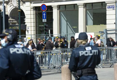 Image: Seks personer bortvist fra Sian-markering i Oslo: – Aggressiv stemning
