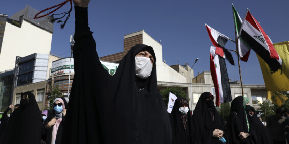Image: Iran lover støtte til Hamas i kampen mot Israel