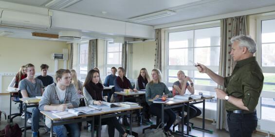 Image: Slik vil Høyre endre ungdomsskolen