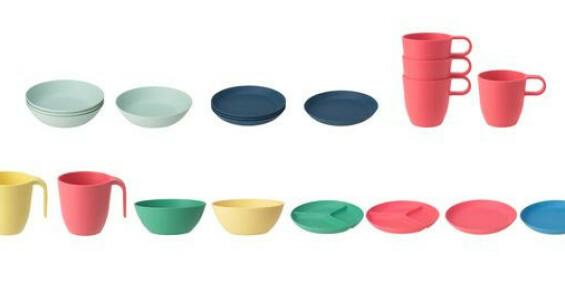 Image: Ikea tilbakekaller tallerkener, skåler og krus