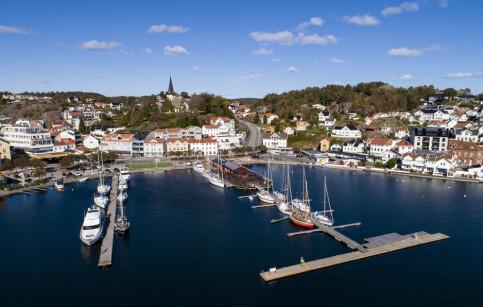 Image: - Betydelig del av Grimstads innbyggere i karantene