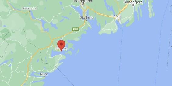 Image: Kvinne knivstukket i Kragerø