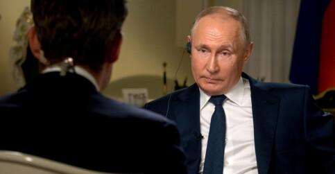 Image: Putin avviser alle anklager: - Latterlig