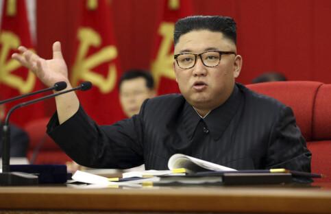 Image: Kim erkjenner at matsituasjonen i Nord-Korea er «anstrengt»