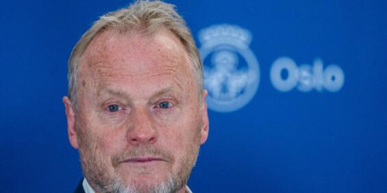 Image: Raymond Johansen varsler at han vil stille kabinettsspørsmål