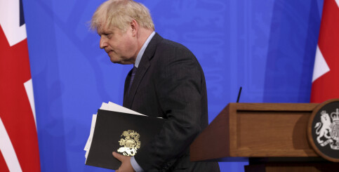 Image: Storbritannia: Høyeste smittetall siden februar