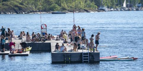 Image: Bymiljøetaten fraråder bading i Oslo