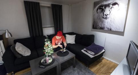Image: Over én million nordmenn bor alene