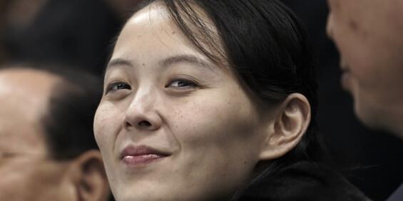 Image: Kim Jong-uns søster: - USA vil bli skuffet