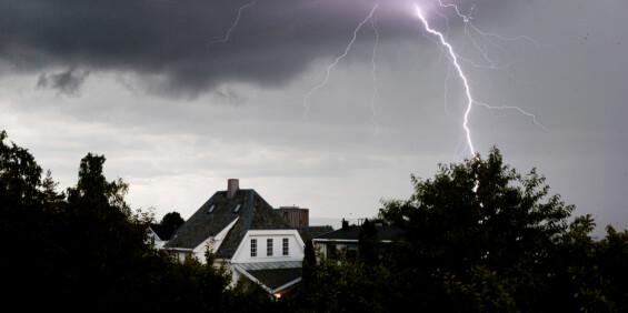 Image: Meteorologen advarer om lyn og styrtregn på Østlandet
