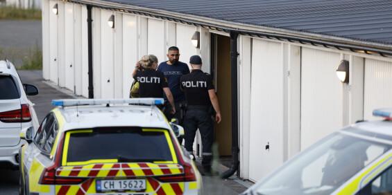 Image: Politiaksjon i Lørenskog