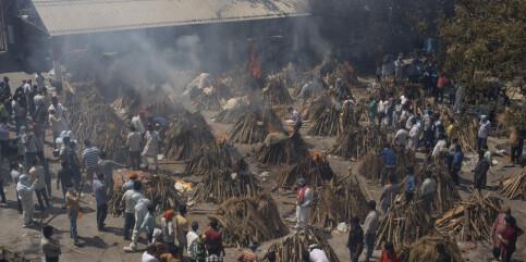 Image: India nekter for at millioner av indere har dødd av corona