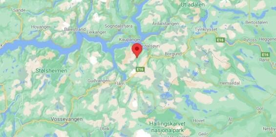 Image: Leteaksjon etter savnet mann i Aurlandsfjellet i Sogn
