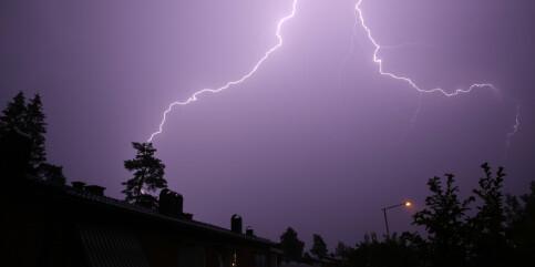 Image: Tordenvær ventes i store deler av landet