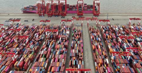 Image: Et sammenfall av dårlig nytt får verdenshandelen til å knake