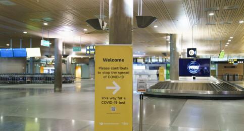 Image: Nye reiseregler fra mandag – flere misforstår innreisereglene.