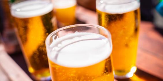 Image: Svensk byggeri merket øl med alkohol som alkoholfritt