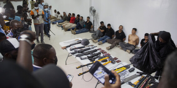 Image: Frykt for at drapet på Haitis president aldri blir oppklart