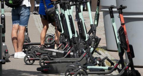 Image: Legevakten oppbemanner for å ta unna ulykker på elsparkesykkel