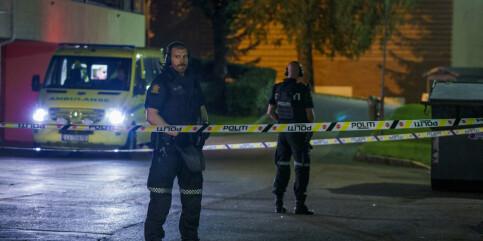 Image: Mann pågrepet etter skytingen på Trosterud