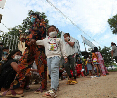 Image: Har begynt å vaksinere seksåringer