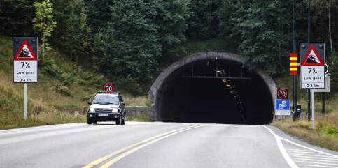 Image: Oslofjordtunnelen stenges på natten