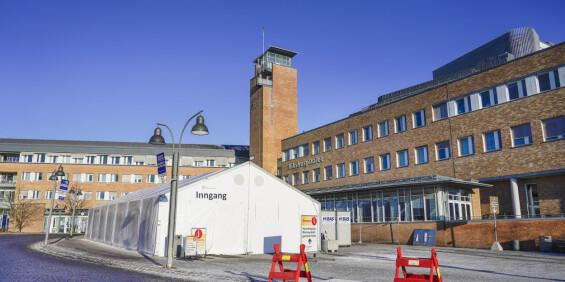 Image: Ni positive coronaprøver påvist hos ansatte på Oslo universitetssykehus