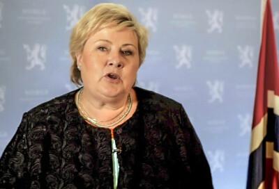 Image: Solberg i FN: Verden står overfor tre kriser