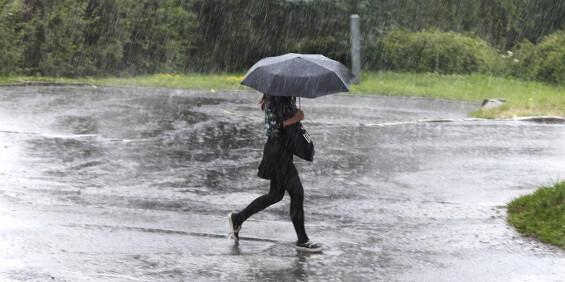 Image: Sender ut farevarsel for regn flere steder