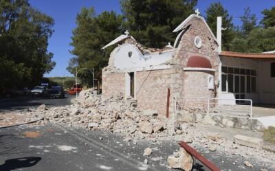 Image: En person død etter kraftig jordskjelv på Kreta