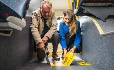 Image: Nå fjernes alle spor etter corona i Oslos kollektivtrafikk