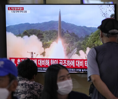 Image: Nord-Korea gjennomførte ny rakettest