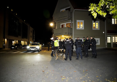 Image: Forsvaret var klare til å rykke ut til Kongsberg