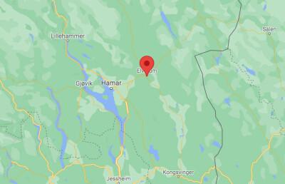 Image: Mann pågrepet med øks i Elverum