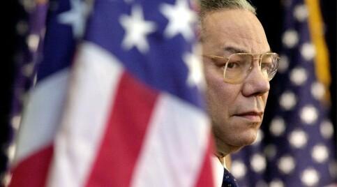 Image: Tidligere utenriksminister Colin Powell er død