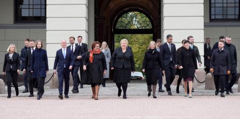 Image: Solberg-regjeringen lever videre i sosiale medier: - Skal få oppdatert kjapt