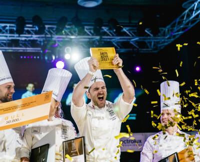 Image: Filip August Bendi vant årets kokk 2021