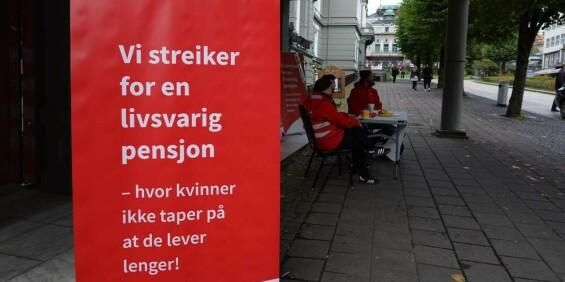 Image: Kulturstreiken er over – enighet om pensjon