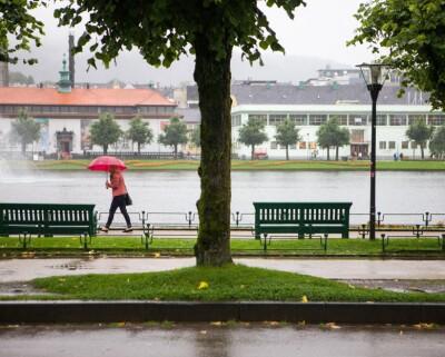 Image: Mye regn i sikte: Farvarsel for flom på Vestlandet
