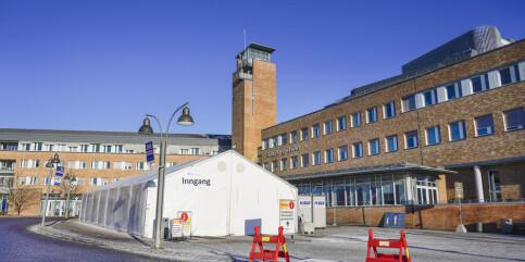 Image: 106 coronasmittede pasienter innlagt på sykehus – 19 færre enn dagen før